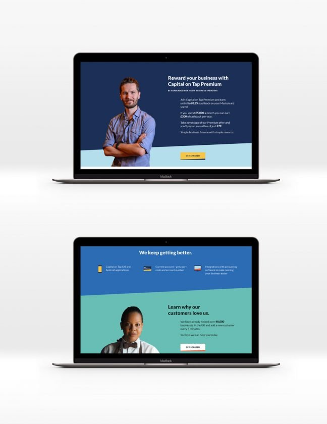 Capital OnTap website 2